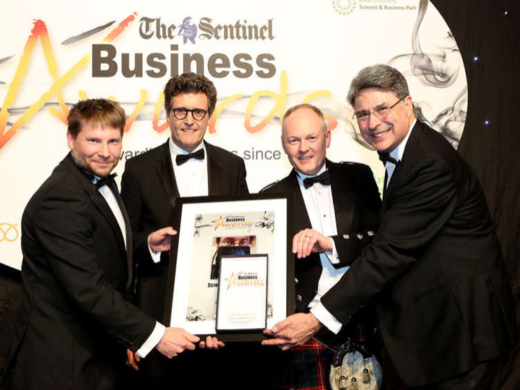 Wells Plastics win 'Science In Business' Award